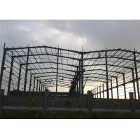Quality Q345 Steel Structure Workshop Fabrication For Mechanical Manufacture for sale
