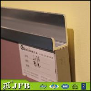 China China factory aluminium hardware fitting modern fancy kitchen aluminium profile handles on sale