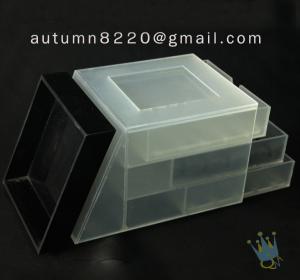 China BO (23) small acrylic display boxes on sale