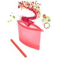 Quality Preservation Reusable Silicone Food Storage Bag for sale