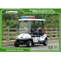 Quality EXCAR 48V 4 Seats Electric Patrol Car Electric Patrol Vehicle Customized Logo for sale