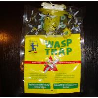 Quality Eco-Friendly Disposable Hanging Fly Trap Wasp Trap bag with bait attractant for sale
