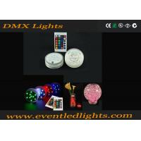 Best 16 Color Changing RGB Rotating Light Base For Cups Beer / Party Club , DMX905 wholesale