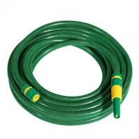 Quality 15 or 25m PVC garden hose set, garden water hose with sprayer nozzle and fittings for sale