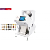 China Multi Functional CCD Colour Sorting Machine Of Mini Type With Power 1.5KW Voltage 220V 60HZ for sale