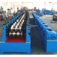China Three Waves 2.5mm Guardrail Roll Forming Machine on sale