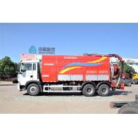 Quality Professional T5G Sewage Pump Truck , Sewer Cleaning Truck Large Capacity for sale