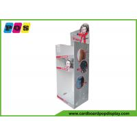 Quality Portable Floor Cardboard Display Stands For Hair Dryer And Hair Straightener for sale