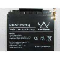Quality Sulfuric Sealed Lead Acid Battery 12v / Rechargeable Lead Acid Battery for sale