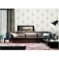 Buy Removable Embossed Vinyl Wallpaper , Washable Embossed Textured Wallpaper at wholesale prices