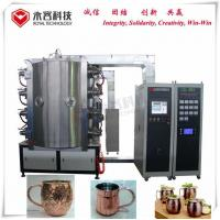 China Copper Water glass cup PVD Coating Machine ,  Gold Film  Ion Plating Equipment on sale