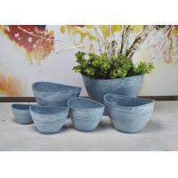 Quality Indoor Decorative Abstract Flower Pots Plain Eco Friendly Fashion Style for sale