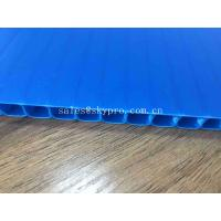 Quality Plastic PP Corrugated Advertising Sign Board Sheets For Flooring Protection for sale
