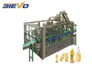 Quality 6000bph 380V 3.5KW Fruit Juice Packaging Machine for sale