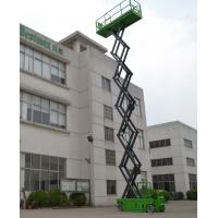 Quality 13.8m Hydraulic Lifting Platform Automotive Self Propelled Scissor Lift with Motorized Device for sale