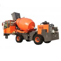 Quality 1.6m³  Mobile Diesel 4X4 Self Loading Concrete Mixer Truck for sale