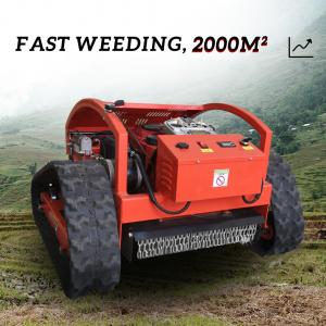 Quality 2021 HT750 Cordless Gasoline Crawler Remote Control Lawn Mower For Sale ! for sale