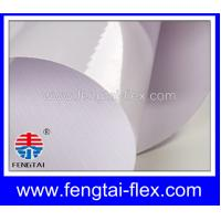 China 440Gsm 13oz 500D*500D 9*9 High Glossy Frontlit Flex Banner Material on sale