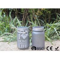 Quality Customized Mason Jar Led Solar Lights , Solar Powered Mason Jar Lantern for sale
