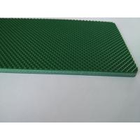 Quality Green Color Pvc Material Industrial Conveyor Belts With Diamond Pattern for sale