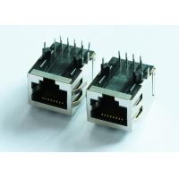 Buy cheap ARJ11B-MASAQ-LU2 1X1 Port Connectors Rj45 With Led Activity Ethernet Magnetics from wholesalers