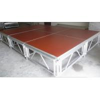 Buy cheap Red 3 - Level Plywood Aluminum Stage Platform With Anti - Slip Board from wholesalers