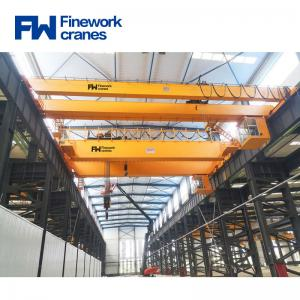 Quality Easy Operate 20T Double Girder Overhead Traveling Crane for sale