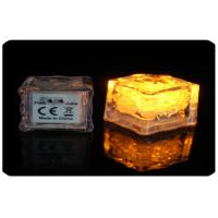 Best 2.8cm Water Or Liquid Activated Led Light Ice Cubes With AG3 Cell Battery wholesale