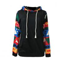Quality Custom Cheap Wholesale Blank Cotton Polyester Adults Women`s Hoodie Jacket with Hood for sale