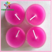 China Yiwu Wholesale Votive Multi-colored Tealight Candle Made in China on sale