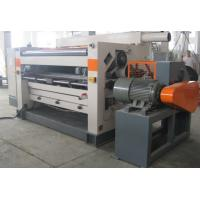 China Width 1400-2500mm Corrugated Cardboard Making Machine Low Noise With Wind Control System on sale