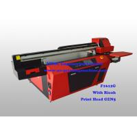 Quality Commercial Multicolor Flatbed Wood UV Printer With Ricoh Industrial Print Head for sale