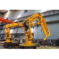Buy cheap Hot Sale Marine Ship Folding Crane with Winch for sale Marine Ship Deck Crane from wholesalers