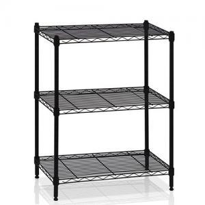 Best 3 Tier Adjustable Steel Wire Metal Display Shelf Customized wholesale