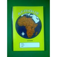 Quality Notebooks with Earth Map Cover for sale