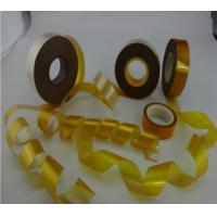 Single Glass Backed High Temperature Mica Tape , Fire Resistant Synthetic Mica Tape