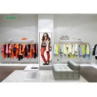Quality Clothing Stores Advertising Led Screens Floor Stand Indoor Tv Led Screen for sale