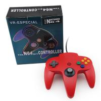 Quality Red Classic Wired Nintendo 64 Computer Controller , Nintendo 64 USB Controller for sale