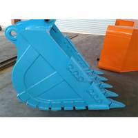 Quality Hydraulic Grapple Excavator Rock Bucket , Customized Compact Excavator Buckets for sale