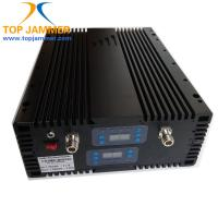Quality 65dB 15dBm Quad Band GSM 900/DCS 1800/3G 2100/4G 2600MHz Mobile Signal Repeater Amplifier for sale
