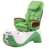 Quality WT-8238 Green Hydraulic Reclining Pedicure Chair 220v -110V With Color Changing Light for sale