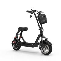 China Smart electric folding mini mobility scooter  with Lcd display phone holder  two wheel 55km/h 500W motor high power on sale