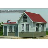 Quality Luxury Prefabricated Light Steel Structure Villa / Modern Modular Homes for Living for sale