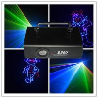 Quality DMX512 500MW Colorful RGB Animation Laser Lighting Using Night Clubs for sale