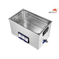Quality 30L Ultrasonic Cleaning Equipment 600W 40KHz For Lead Frame / Capillary Tube / Salver for sale