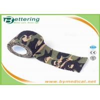 Quality Camo Wrapping Camouflage Printing Self Adhesive Flexible Bandage for sale