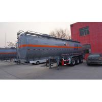 China China optional volume 40,000-45,000L fuel tanker trailer on sale on sale