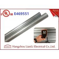"Quality Exterior 1"" Hot Dip Galvanized Metal Electrical Conduit with UL Listed for sale"