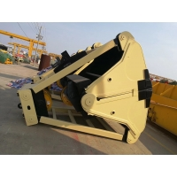 Quality Hydraulic / Mechanical Clamshell Grab Bucket For Crane for sale