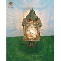 Buy cheap Moroccan lantern lamp with colourfull acrylic home decoration from wholesalers